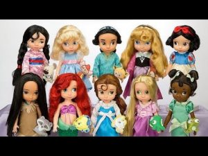 muñecas princesas disney animators